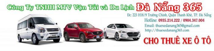 Thuê xe ô tô Đà Nẵng 365