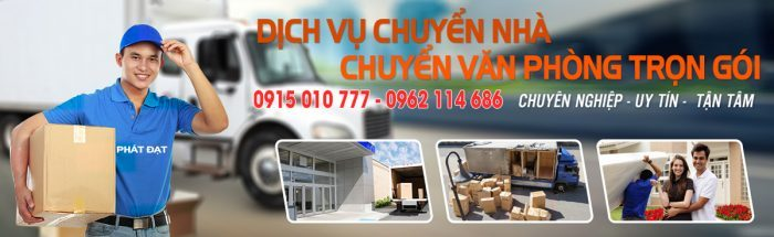 Dịch vụ chuyển nhà trọn gói Phát Đạt