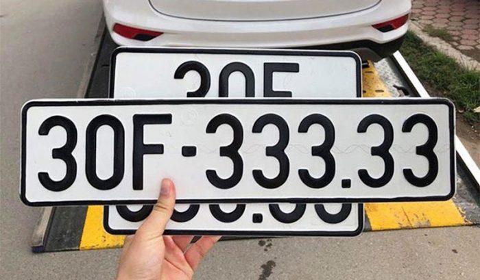 Cách tính biển số xe, ý nghĩa biển số theo phong thủy