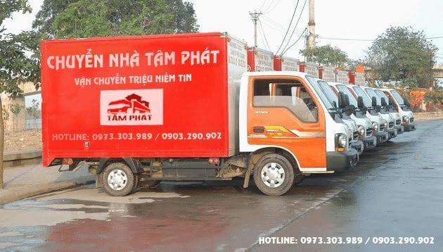 Dịch vụ chuyển nhà Đà Nẵng Tâm Phát
