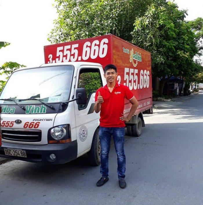 Taxi tải Hoa Vinh – Đơn vị chuyển nhà Hải Phòng giá rẻ