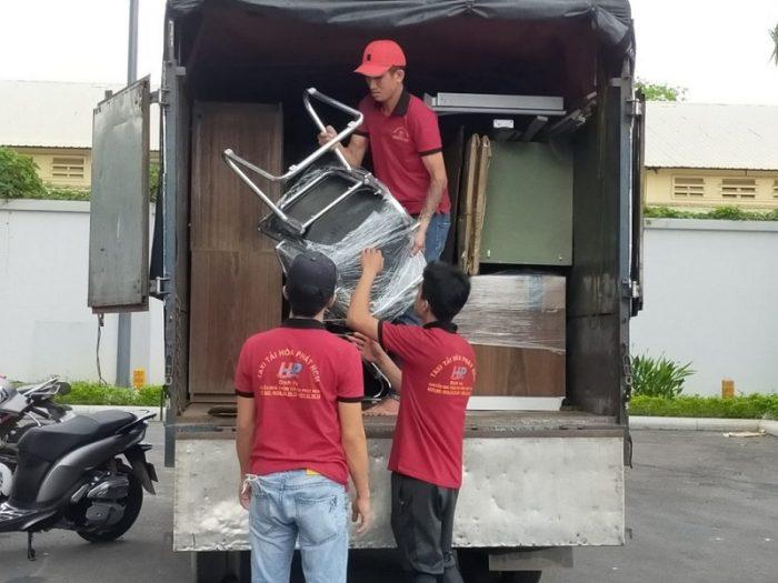 Dịch vụ chuyển nhà Bình Dương- Hoà Phát