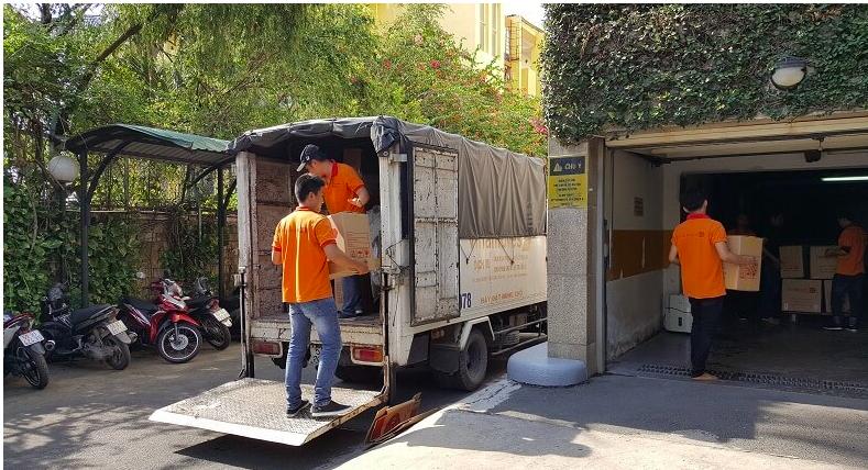 chuyển nhà trọn gói Vinamoves