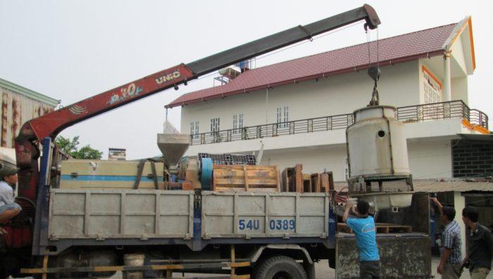 Chuyển kho xưởng Bình Dương – công ty vận tải 24H