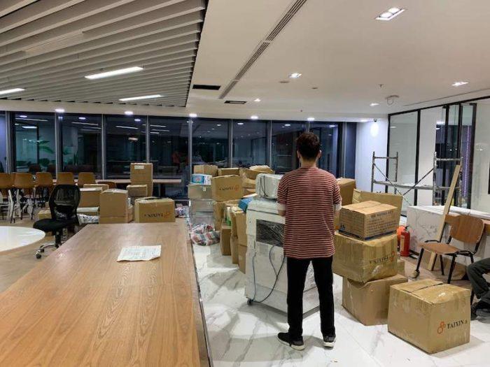 Top 10 công ty chuyển văn phòng tại quận Tân Bình