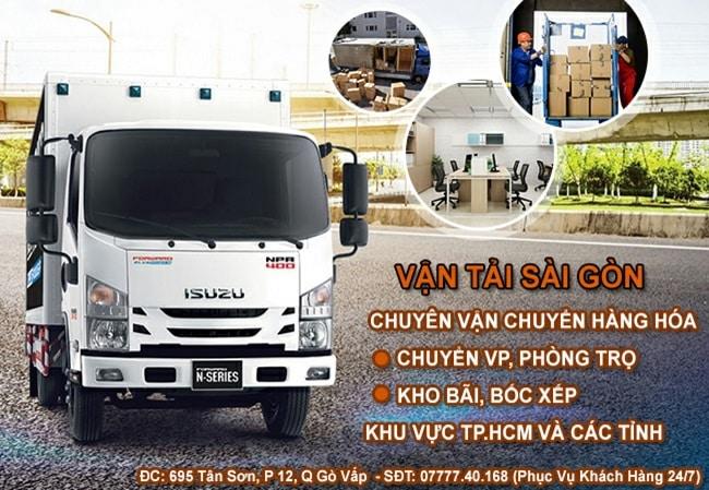 Thuê xe tải chở hàng TPHCM - Vận tải Sài Gòn