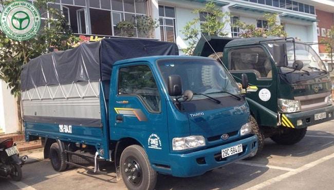 Thuê xe tải chở hàng TPHCM - Thành Đạt