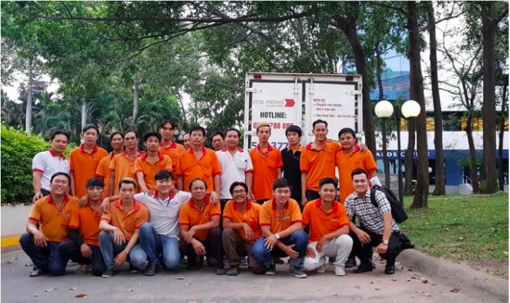Đội ngũ nhân viên tại Vinamoves