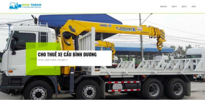 Minh Thành – Đơn vị cho thuê xe cẩu uy tín tại Bình Dương