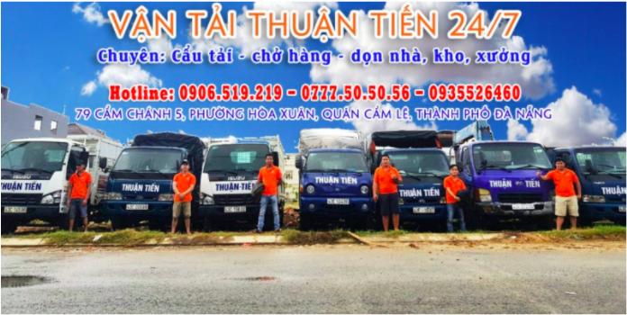 Thuận Tiến 24/7 đơn vị cho thuê xe cẩu tại Đà Nẵng