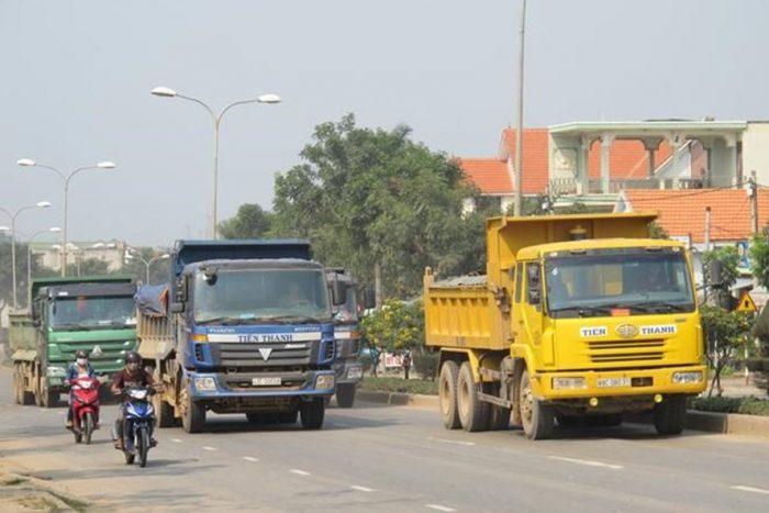 Giờ cấm xe tải tại tphcm