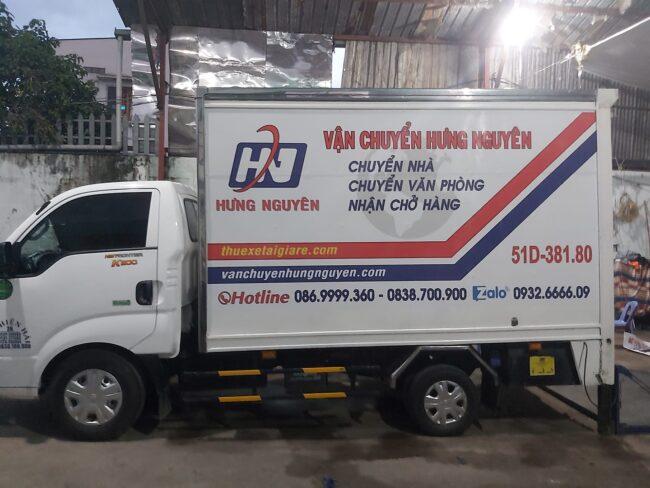 Thuê xe tải chở hàng TPHCM - Hưng Nguyên