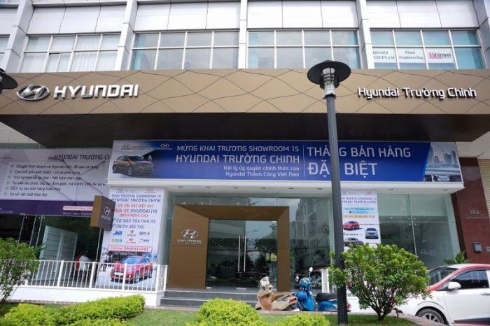 Showroom ô tô tphcm- Hyundai Trường Chinh