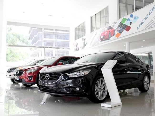 Showroom ô tô TPHCM– Mazda Cộng Hòa