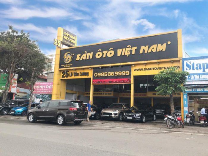 sàn ô tô Việt Nam