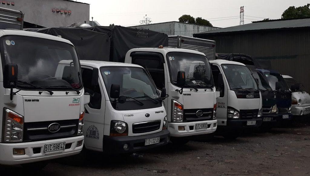Thuê xe tải chở hàng TPHCM - SG Moving