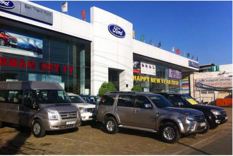 Hình ảnh showroom Ford Bến Thành