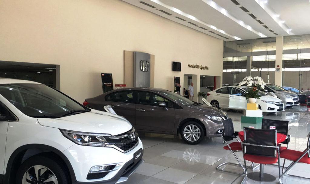 showroom ô tô TPHCM Cộng Hoà