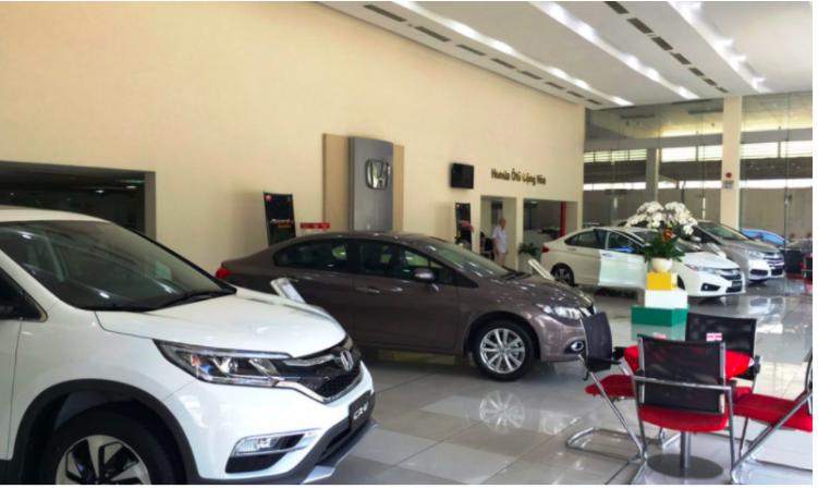 showroom ôtô Cộng Hòa