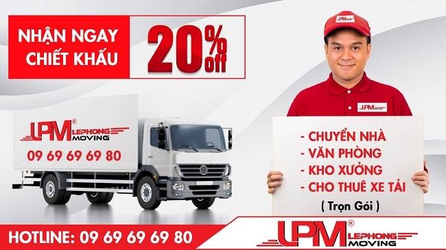 Thuê xe tải chở hàng TPHCM - Taxi tải LPM