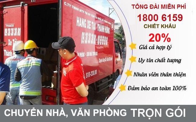 Thuê xe tải chở hàng TPHCM - Taxi tải Thành Hưng