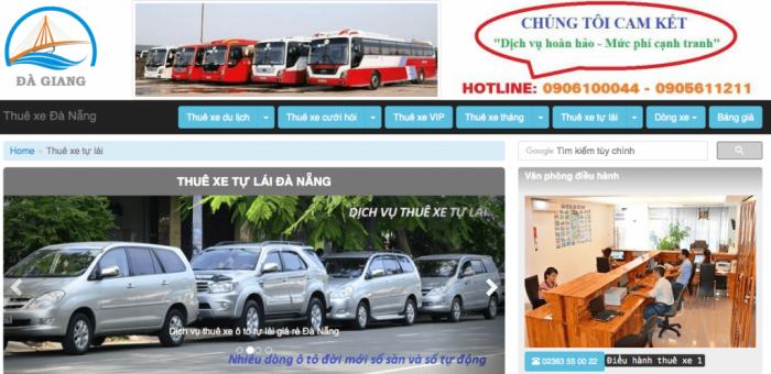 Công ty cho thuê xe du lịch Đà Giang