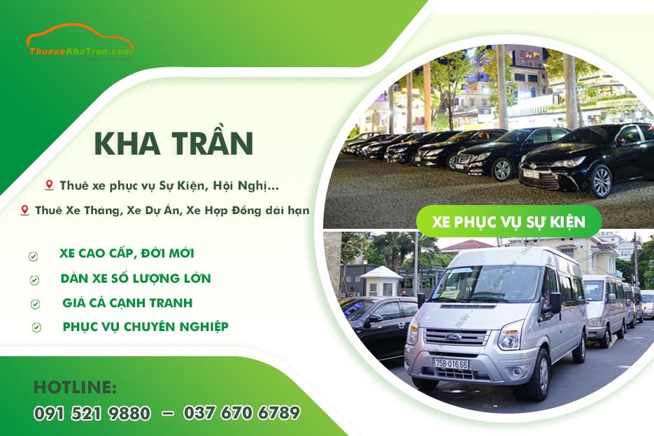 Thuê xe ô tô tự lái Đà Nẵng – Kha Trần