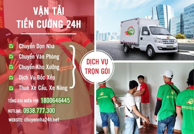 Thuê xe tải chở hàng TPHCM - Thuê xe Tiếng Cường