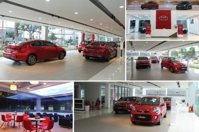 Top 10 showroom ô tô tại thành phố Hồ Chí Minh