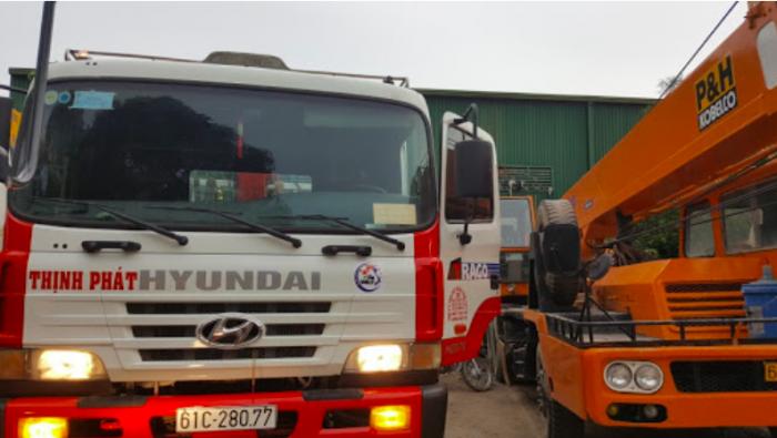 công ty vận tải cẩu Thịnh Phát