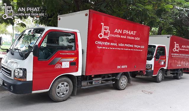 Thuê xe tải chở hàng TPHCM - An Phát