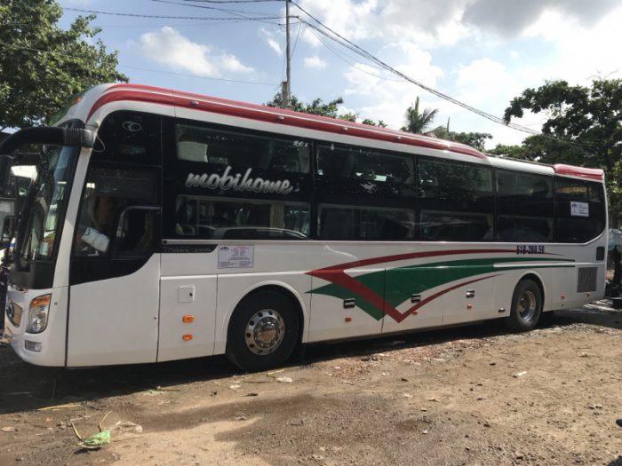 Nhà xe Ngọc Sanh - nhà xe đi Sài Gòn Huế