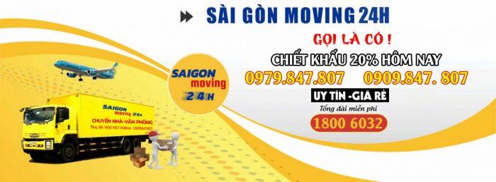 Dịch vụ chuyển văn phòng - Saigon Moving 24h